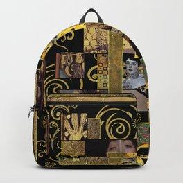 Klimt art Backpack