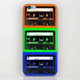 Mixtapes iPhone Skin