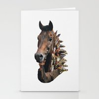 seahorse Stationery Cards featuring Seahorse by Lerson