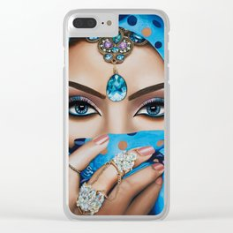 Jeeshan Clear iPhone Case