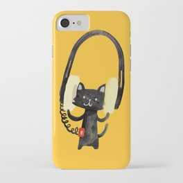 I Love Huge Headphone iPhone Case