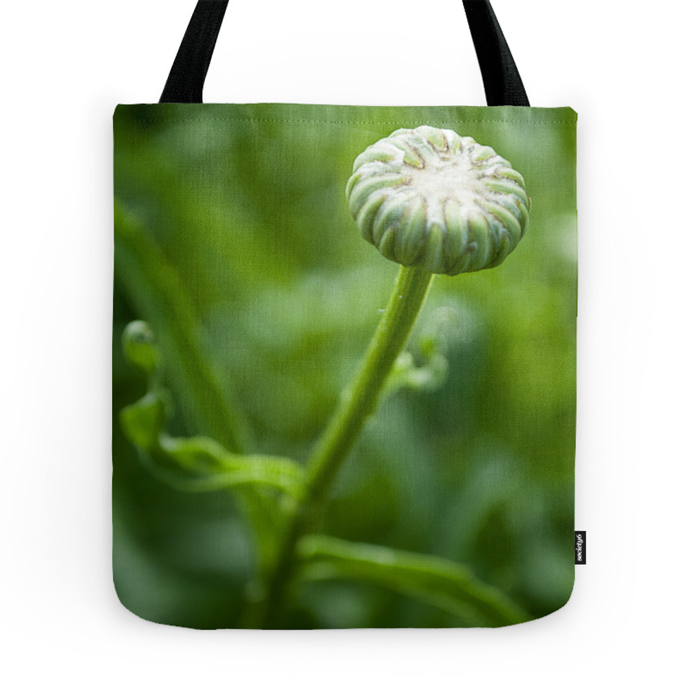 Petit Bouton (Little Bud) by Althea Photo Tote Purse by altheaphoto (TBG9557844) photo