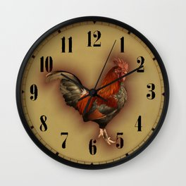 ROOSTER - 026 Wall Clock