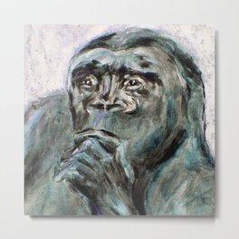 Ishmael, the Gorilla Metal Print