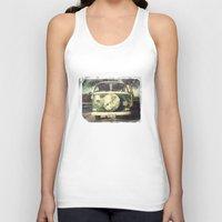 hippie Tank Tops featuring Hippie Car by Arther Maure / URBANIC PHOTOGRAPHY