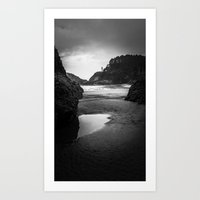 lighthouse Art Prints featuring Lighthouse by Lawson Images