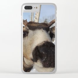 The Friendly Buck Clear iPhone Case