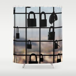 Locks in Florence Shower Curtain