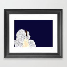 Shuttle Launch Framed Art Print
