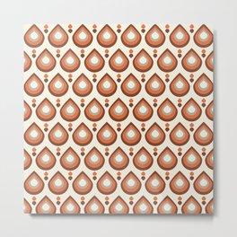Drops Retro Caramela Metal Print
