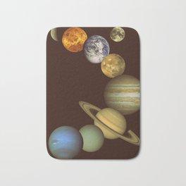 The Solar System Bath Mat