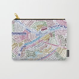 St. Petersburg Literary Map Carry-All Pouch