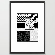 Sharkephant Framed Art Print