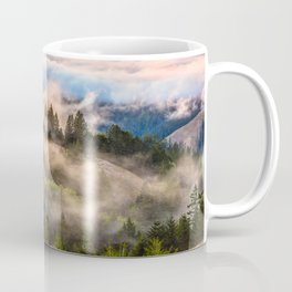 Coastal Fog Over Mount Tamalpais Coffee Mug