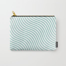 Tirquaz wavy modern lines Carry-All Pouch