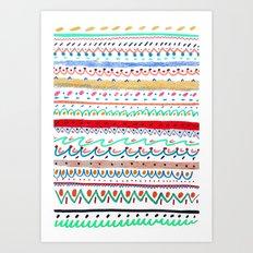 Rad pattern, cool pattern, pattern design, Art Print