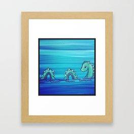 Ol Nessy Framed Art Print