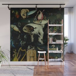 """Hieronymus Bosch """"The Garden of Earthly Delights"""" - Hell Wall Mural"""