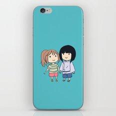 Chihiro & Haku iPhone & iPod Skin