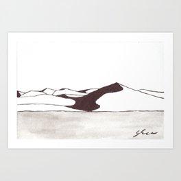 Dunes 2 - Namibia Art Print
