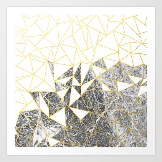 Ab Marb Art Print