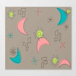 Boomerangs and Starbursts Canvas Print