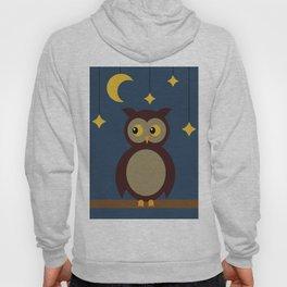 Brown Owl Moon Hoody
