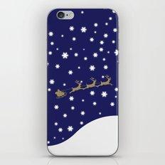 Christmas Santa Claus iPhone & iPod Skin
