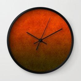 """""""Sabana Sunset Light"""" Wall Clock"""
