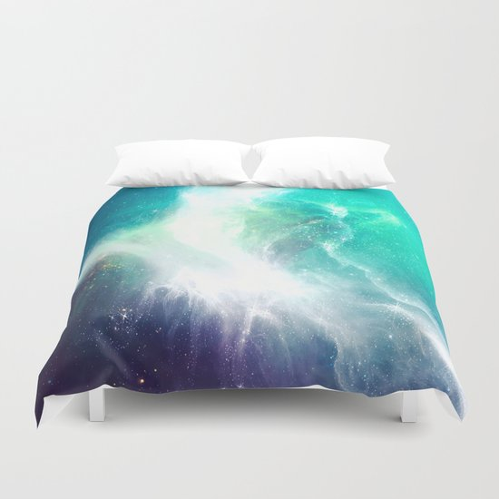 Wave to Heaven Duvet Cover