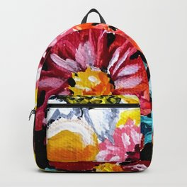 Blend of flowers Backpack