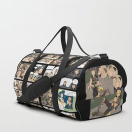 Nagron Chibi Collection (Spartacus) Duffle Bag