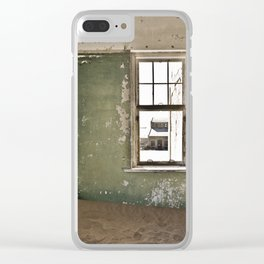 Abandoned house - Landscape Photography #Society6 Clear iPhone Case