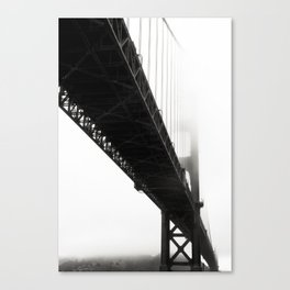 Black Bridge Canvas Print