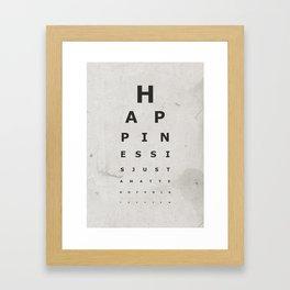 Happiness (1) Framed Art Print
