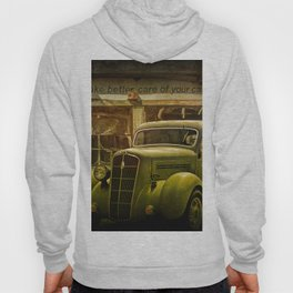 Service Station Automobile Car Care Hoody
