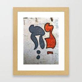Noach Framed Art Print