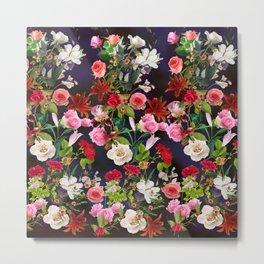Floral pattern 68 Metal Print