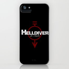 Helldiver of Lykos iPhone Case