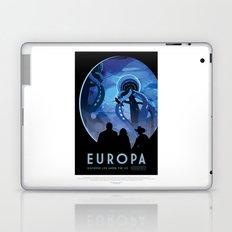 Europa - NASA Space Travel Poster  Laptop & iPad Skin