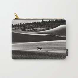 Walking alone through the desert of life Carry-All Pouch