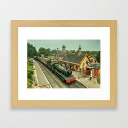 Bradley Manor at Arley Framed Art Print