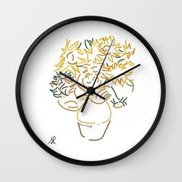 Minimal Gogh Wall Clock