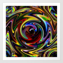 Abstract Perfection 54 Art Print
