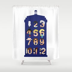 The Number Who Shower Curtain