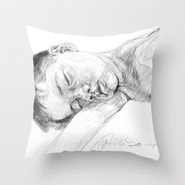Sweet dream, my little son Throw Pillow