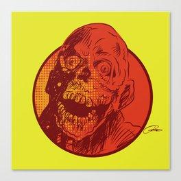 Freak Drawings: Tar Man Canvas Print
