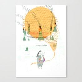 Beach House - Norway Canvas Print