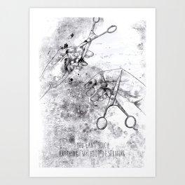 Scissorhands 2 Art Print