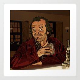 "The Shining - ""I like ya Lloyd.."" Art Print"